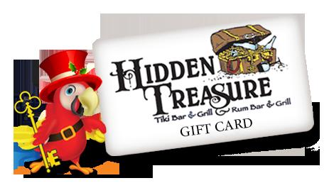 hidden treasure restaurant gift card
