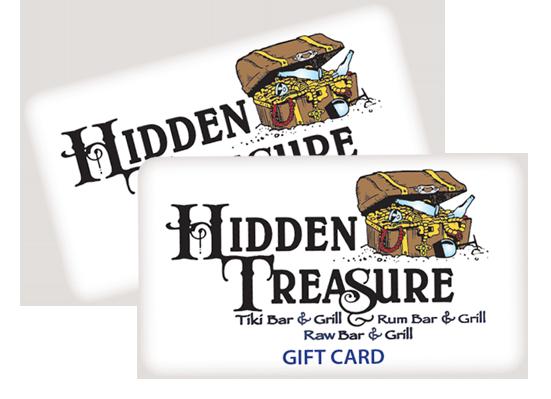 hidden treasure restaurants gift cards