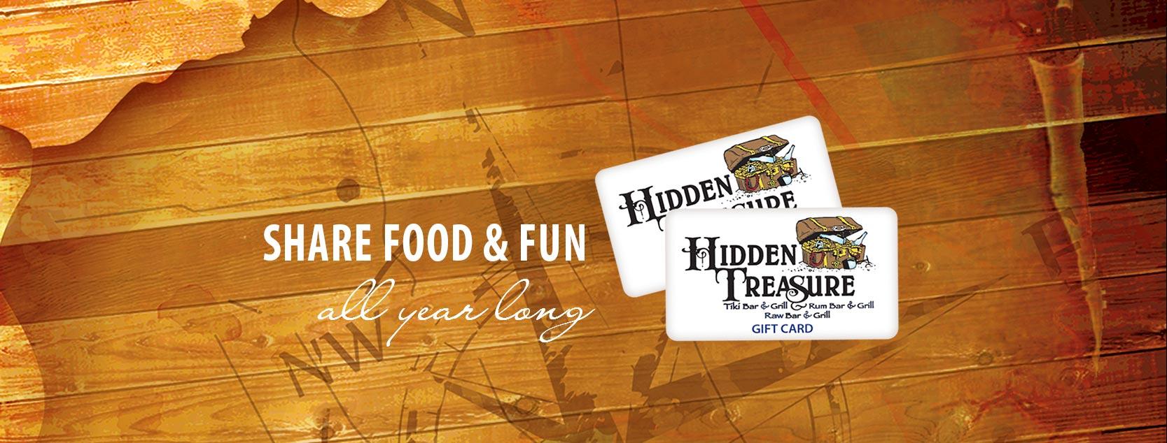 hidden treasure gift cards promo