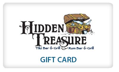 gift card hidden treasure restaurants