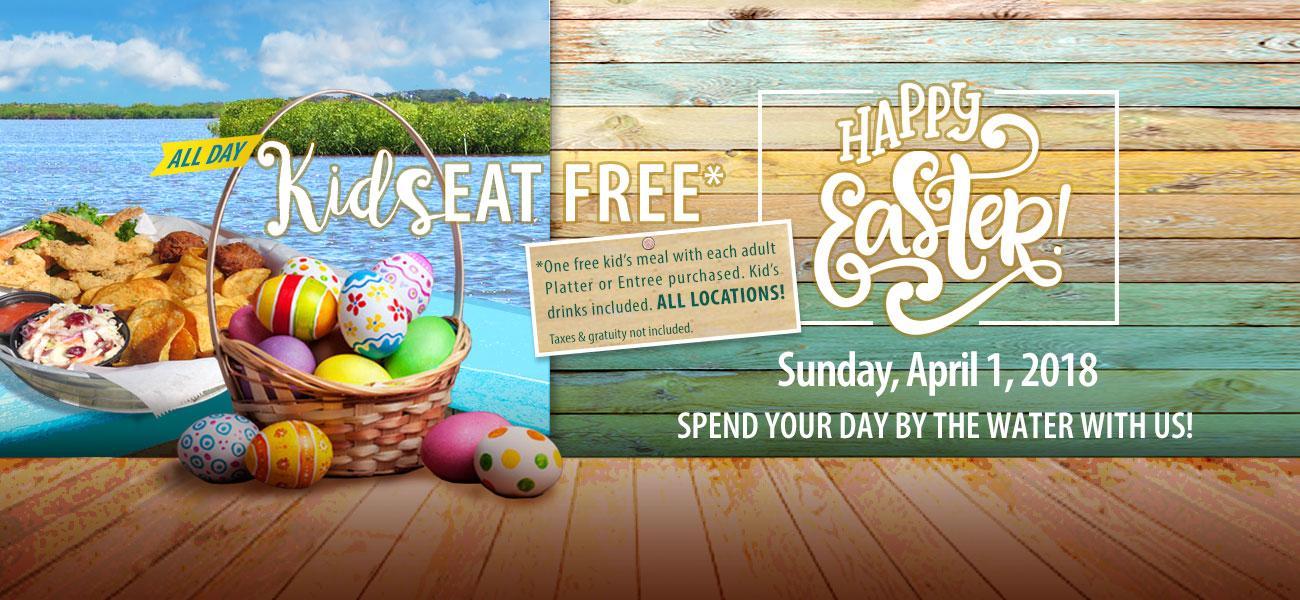 easter hidden treasure kids eat free restrictions apply