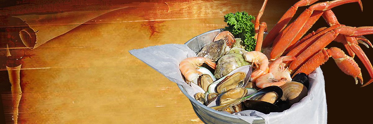 steamed seafood bucket sampler hidden treasure restaurants daytona beach