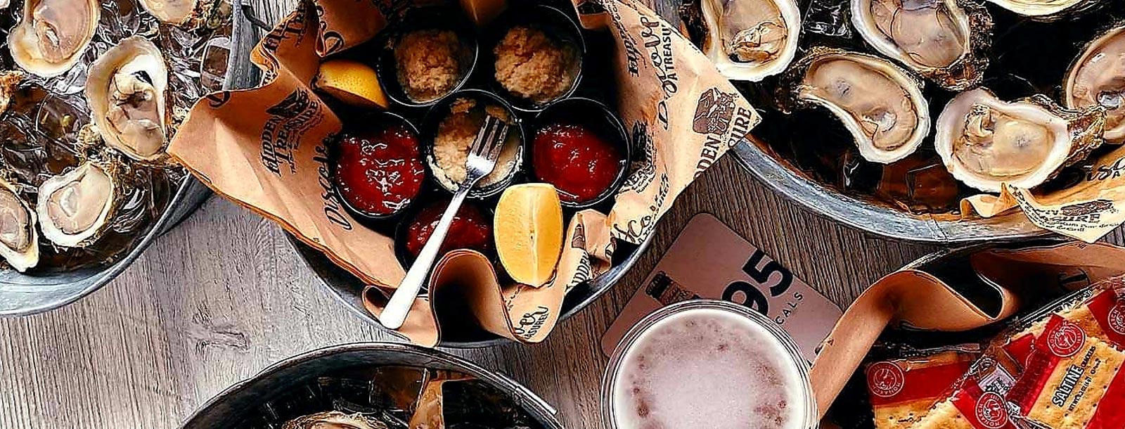 oysters ten dollars per dozen hidden treasure restaurants