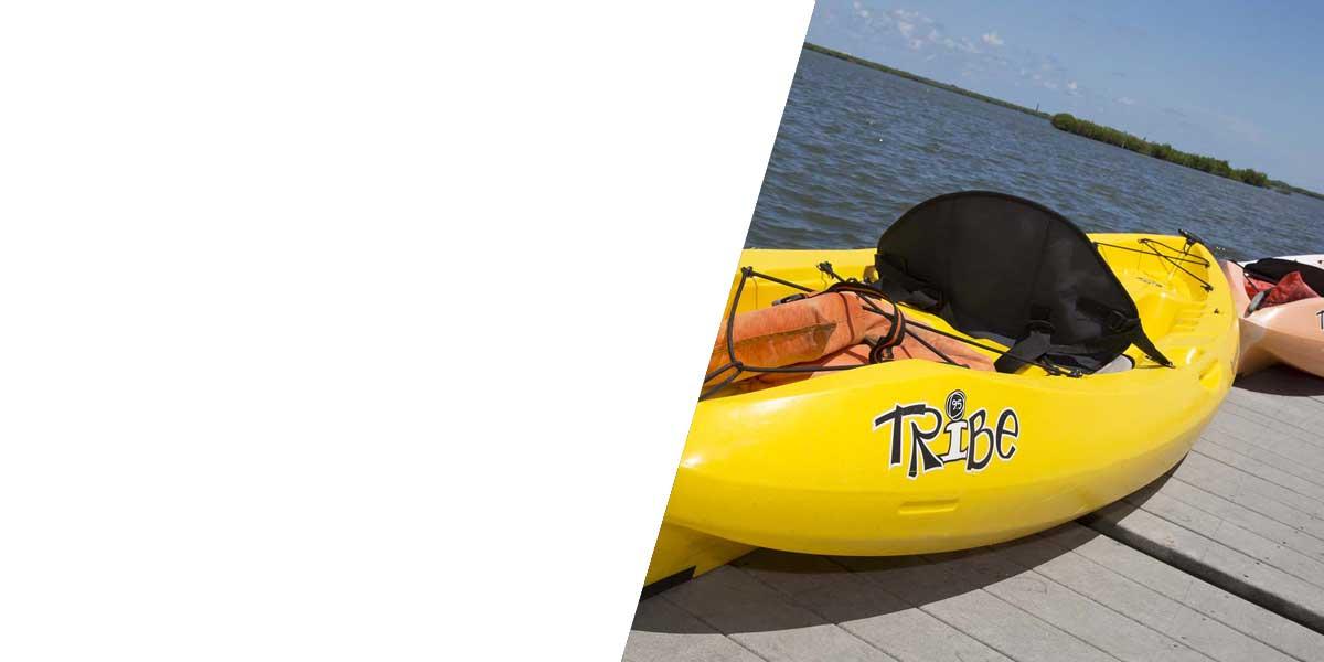 kayaks stand up paddle boarding port orange