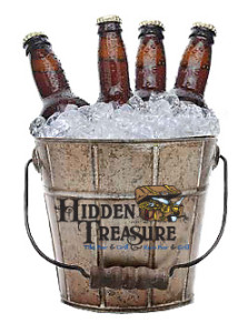 $10 domestic beer buckets aboard weekend shuttle boat hidden treasure