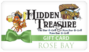 Hidden Treasure Restaurants Gift Card Rose Bay