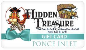 Hidden Treasure Restaurants Gift Card Ponce Inlet