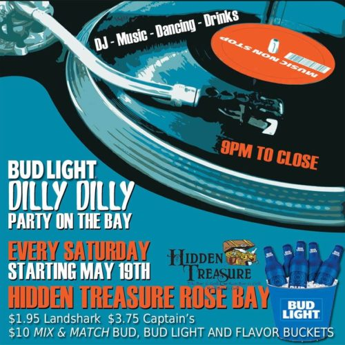 bud light dilly dilly party every saturday hidden treasure port orange
