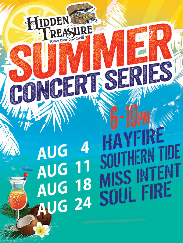 FREE live music concerts flagler beach hidden treasure