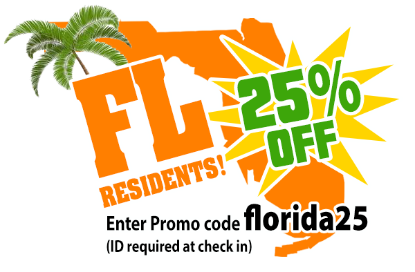 florida residents 25% off water sports port orange fl