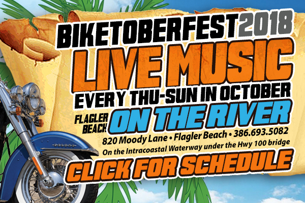 October Concert Series Flagler Biketoberfest 2018 Hidden Treasure