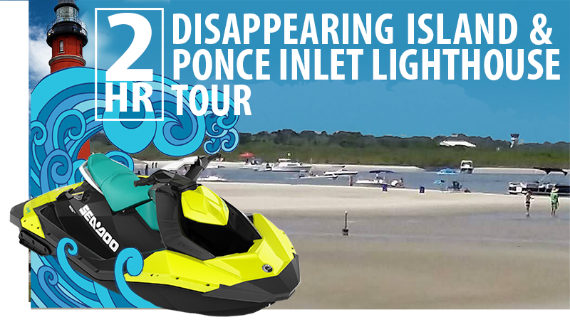 sea doo tours ponce inlet lighthouse disappearing island rosebay water sports