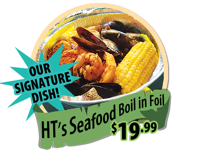 hidden treasure seafood boil in foil daily special