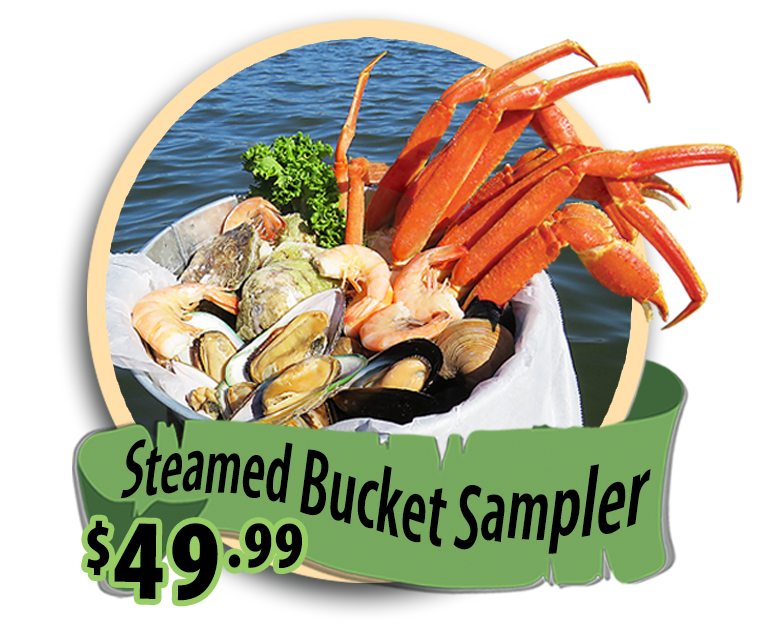 steamed bucket sampler hidden treasure restaurants