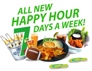happy hour 7 days hidden treasure restaurants port orange ponce inlet flagler beach
