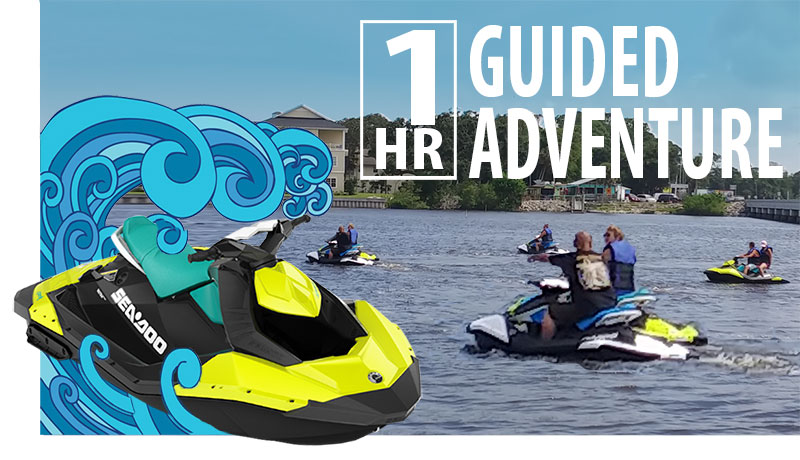 sea doo rentals adventures rose bay port orange