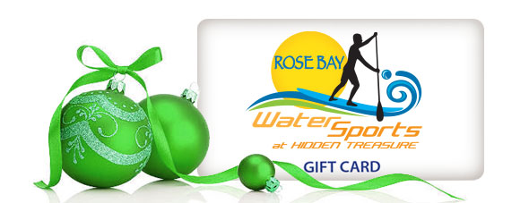 rose bay water sports holiday gift card
