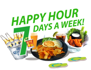 happy hour 7 days hidden treasure restaurants port orange ponce inlet
