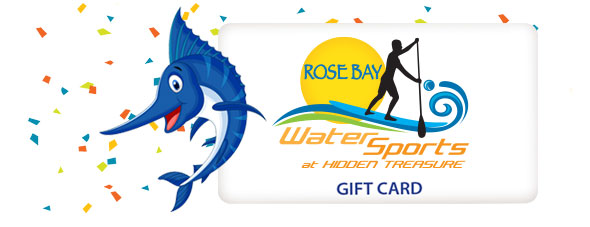 rose bay water sports gift card