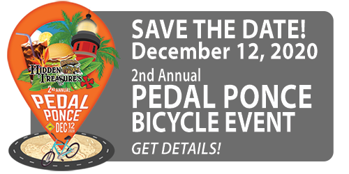 pedal ponce bicycle event december 14 2019 hidden treasure rum bar grill