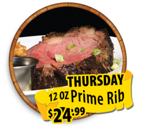 thursdays prime rib 24.99 hidden treasure restaurants port orange ponce inlet